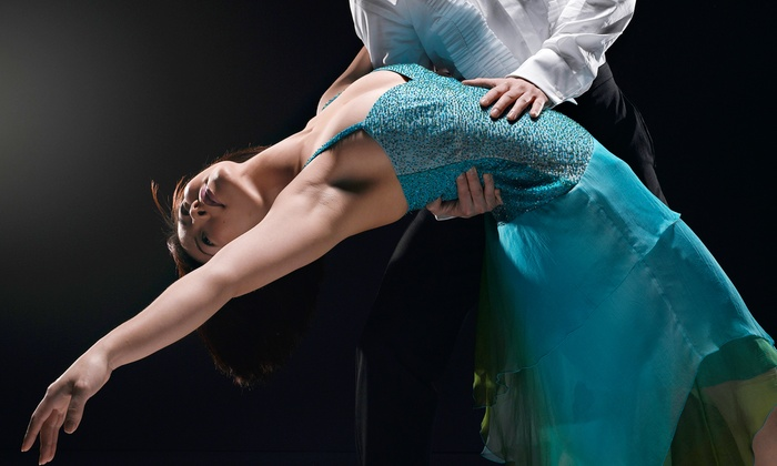 Studio Q'dance - Multiple Locations: Ballroom Sampler Group Classes with Optional Private Lessons at Studio Q'dance (Up to  67% Off)