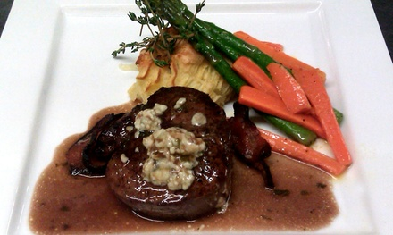 French and Continental Cuisine for Dinner at Le Rendez-Vous Restaurant (50% Off).