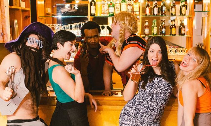 "Bye Bye Liver - Urban Saloon: ""Bye Bye Liver: The Philadelphia Drinking Play"" for Two (November 13–December 18)"