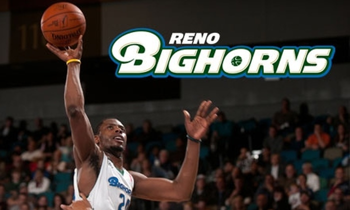Reno Bighorns - Downtown Reno: $20 for Two Tickets to a Reno Bighorns Game ($40 Value)