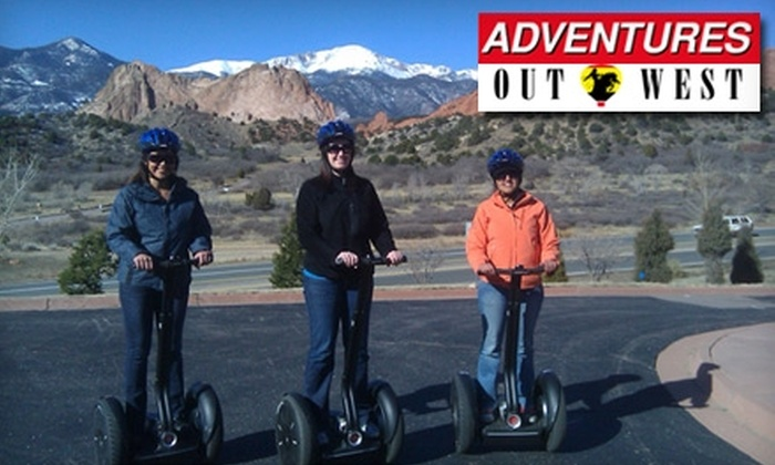 Adventures Out West - Sedona: $42 for an Off-Road Desert Segway Tour from Adventures Out West in Fort McDowell or Sedona ($85 Value)