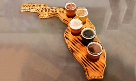 Two Beer Flights for Two or Four Beer Flights for Four at Orange County Brewers (Up to 31% Off)