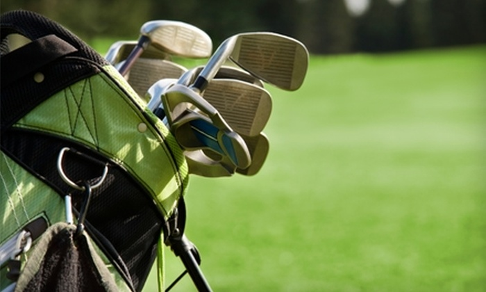 Mosholu Golf Course & Driving Range - Norwood: Round of Golf for Two and More at Mosholu Golf Course & Driving Range in the Bronx. Two Options Available.