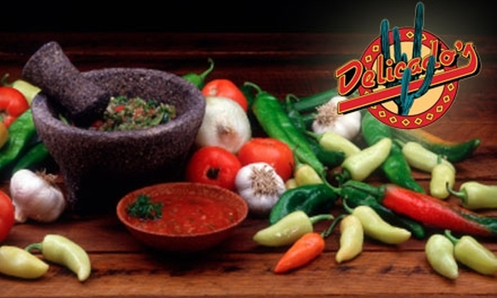 Delicado's - Jubilee: $6 for $13 Worth of Food and Drink at Delicado's