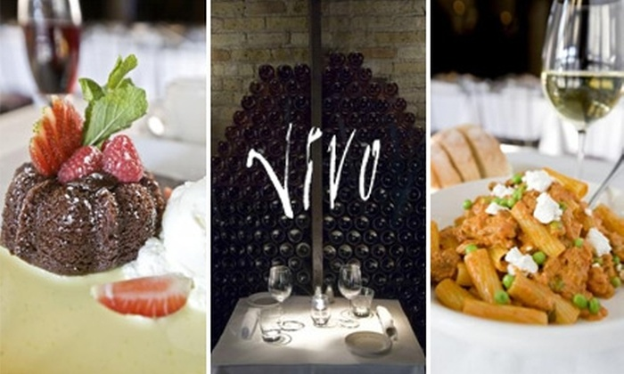 Vivo - West Loop: $30 for $60 Worth of Italian Fare and Drinks at Vivo