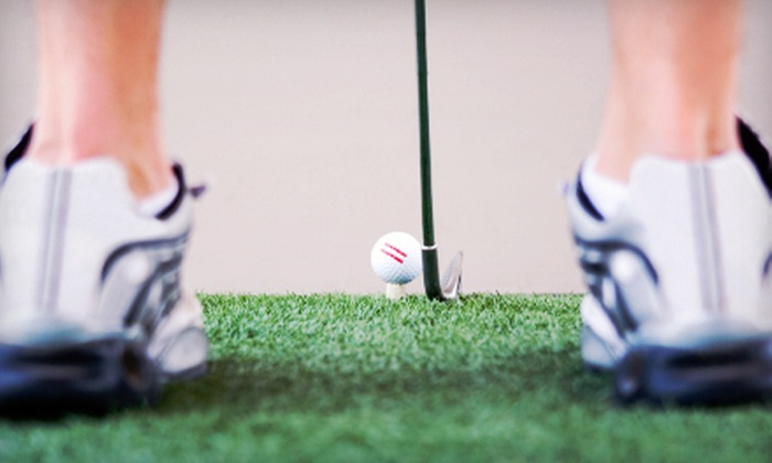 Fairways Indoor Golf - Franklin: Three Hours of Virtual Golf at Fairways Indoor Golf in Franklin (Up to 61% Off). Two Options Available.
