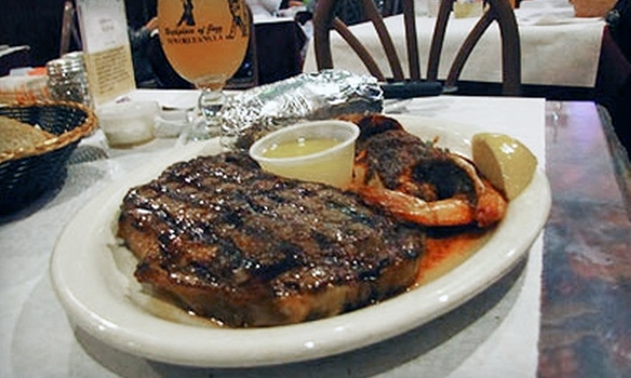 Sammy's Seafood Restaurant - French Quarter: $20 for $40 Worth of Creole Fare at Sammy's Seafood Restaurant