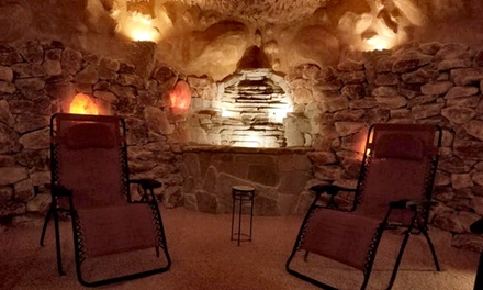 Salt Therapy Sessions at Salt Oasis (Up to 53% Off). Three Options Available.