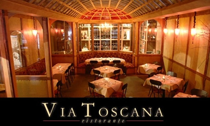 Via Toscana - Superior: $15 for $30 Worth of Italian Cuisine and Drinks at Via Toscana in Louisville