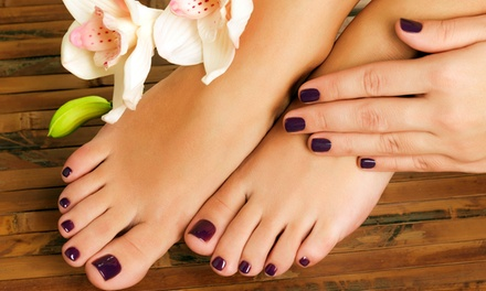 $21 for Deluxe Mani-Pedi at Timmy Girl Skin and Nail Salon ($39 Value)