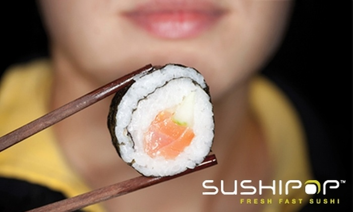 Sushipop - Spring Branch West: $6 for $12 Worth of Sushi and More at Sushipop