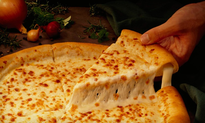 Villages Pizza - Multiple Locations: Pizza Dinner for Two or Four at Villages Pizza