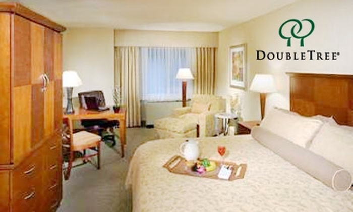 3.5-Star Austin Hotel - St. Johns: $79 for a One-Night Stay, Plus Breakfast for Two, at Doubletree Hotel Austin