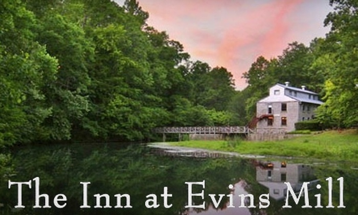 The Inn at Evins Mill - 5: $115 for a One-Night Stay Including Dinner and Breakfast at The Inn at Evins Mill in Smithville ($240 value)