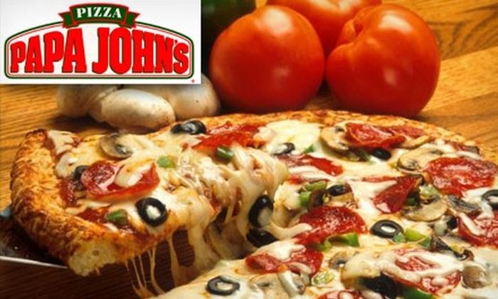 Papa John's - Multiple Locations: $8 Extra-Large Pizza from Papa John's (Up to $19.25 Value)