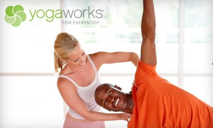 YogaWorks - Multiple Locations: Unlimited Yoga Classes at YogaWorks. Choose from Two Options.