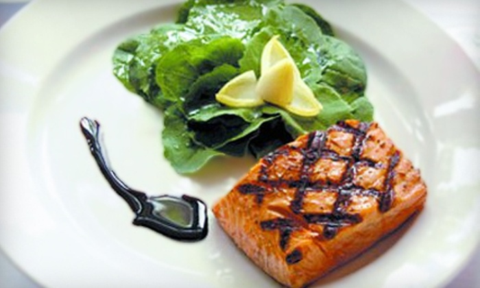 Garfield's Restaurant, The Salon at Lakeside, & The Spa at Lakeside 2.0 - Pelican Point: $55 for Lunch at Garfield's Restaurant with Spa Service for Two at The Salon or Spa at Lakeside 2.0 (Up to $110 Value)