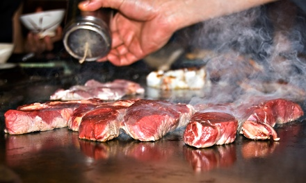 Hibachi Dinner for Two or Four at Koby Japanese Steakhouse (40% Off)