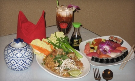 The Queen & I Thai Restaurant: $15 Groupon for Lunch - The Queen & I Thai Restaurant in St. Petersburg
