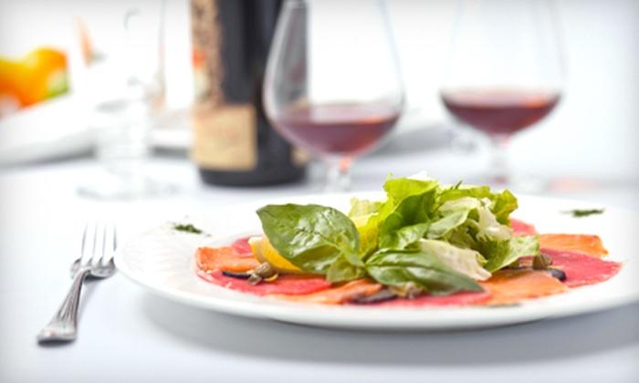 Moji Italian Bistro - Byward Market - Parliament Hill: Italian Dinner or Lunch Fare at Moji Italian Bistro (Up to $50 Value)