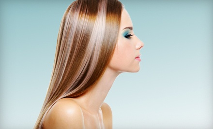 Haircut, Conditioning Treatment, and Style (a $60 value) - Cut Me Loose Hair and Nail Studio in Mason