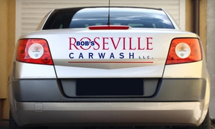 Bob's Roseville Car Wash - Cirby Side: $35 for Five Car Washes at Bob's Roseville Car Wash ($79.95 Value)