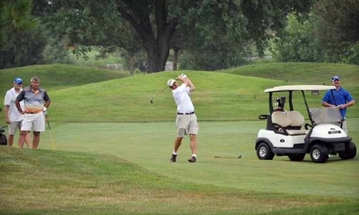 Shadowood Golf Course - Seymour: Two or Four Rounds of Golf with Cart Rental at Shadowood Golf Course in Seymour