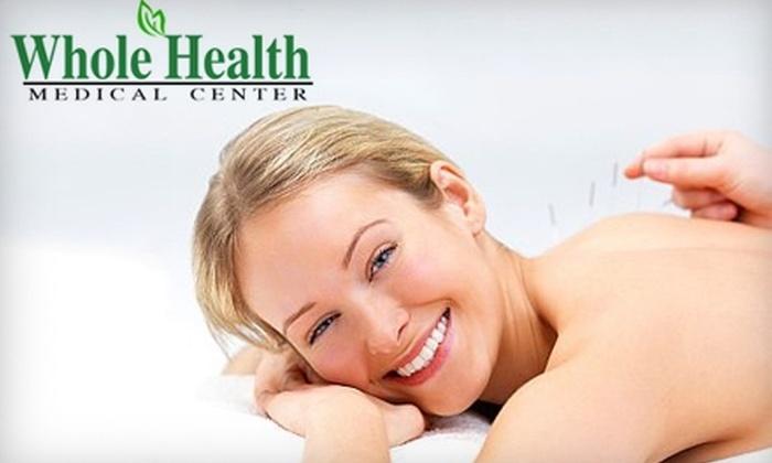Whole Health Medical Center - Groveton: Wellness Services at Whole Health Medical Center. Choose from Three Options.