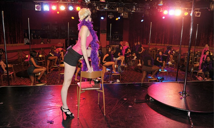 Night School 4 Girls - Excalibur: $29 for Preferred Pole-Dancing Package with VIP Nightclub Access and Drink Passes from Night School 4 Girls ($65 Value)
