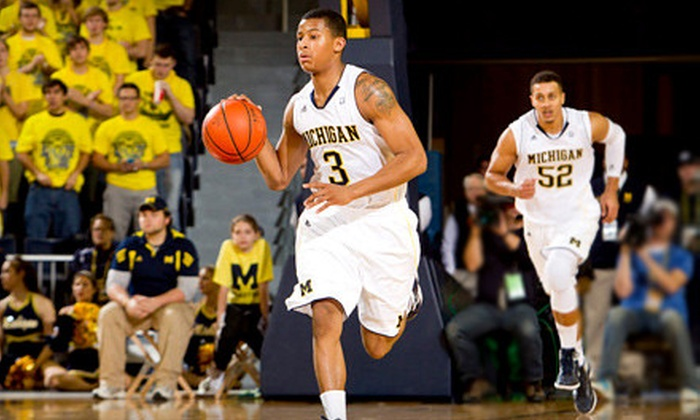 The Palace Detroit - Auburn Hills: Group Tickets to University of Michigan Men's Basketball at The Palace in Auburn Hills. Three Options Available.