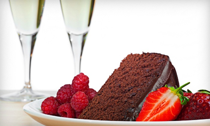 SweetCakes & Candy Emporium - Central City: $35 for a Valentine's Day Basket of Cake, Wine, and Chocolate at SweetCakes & Candy Emporium ($78.37 Value)