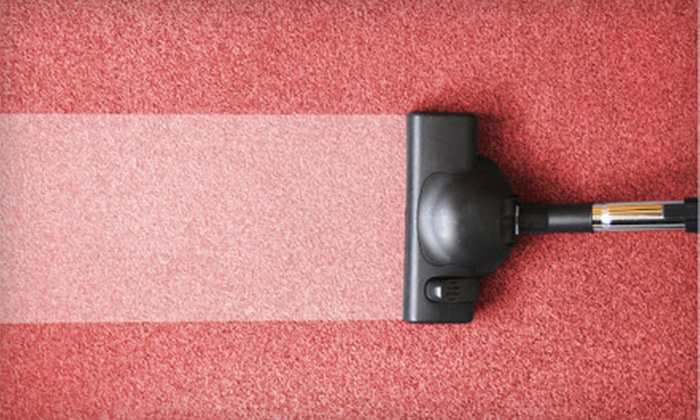 Sears Carpet and Upholstery Care - Springfield: $59 for Three-Room Carpet Cleaning and Two-Room Protectant from Sears Carpet and Upholstery Care (Up to $134 Value)