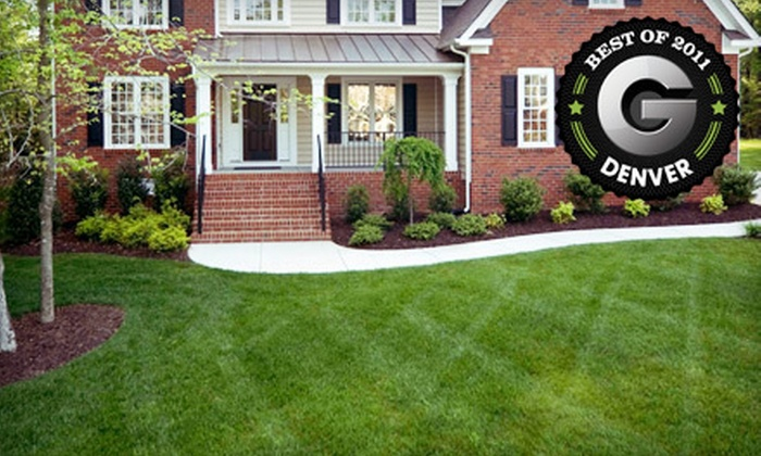 Eco Carpet Cleaning - Columbine Knolls South: $59 for a Landscaping Package with Lawn Aeration, Organic Fertilizer, and Seeding from Eco Carpet Cleaning ($120 Value)