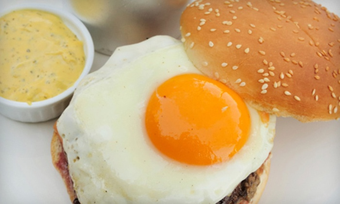 Soho Burger Bar - Central Business District: Gourmet Burger Meal with or without Drinks for Two or Four at Soho Burger Bar (Up to 63% Off)