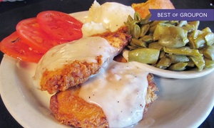 The Moose Cafe: $10 for $16 Worth of Farm-to-Table Comfort Foods and Drinks for Two at The Moose Cafe