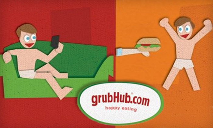 GrubHub: $10 for $20 Worth of Food and Drink Delivery from GrubHub