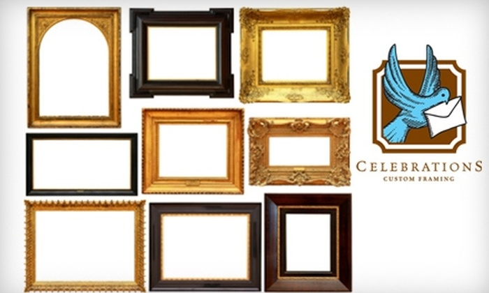 Celebrations - East Louisville: $25 for $75 Worth of Custom Framing, Plus 10% Off Gifts and Stationary at Celebrations