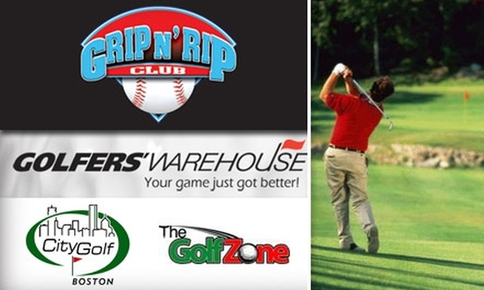 Grip N Rip Club - Boston: $15 for 2010 Sporting Discounts With the Grip N' Rip Club