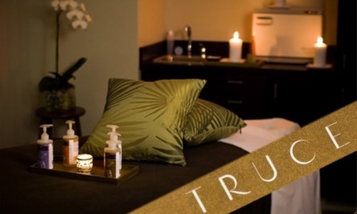 Truce Spa - West Bellevue: $64 for a 60-Minute Body Wrap and Custom Take-Home Spa Package at Truce ($129 Value)