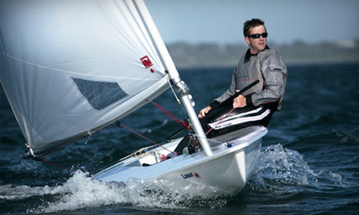 SailLaser - Northeast Coconut Grove: Two-Hour Introduction to Sailing Group Lesson for Children or Adults from SailLaser