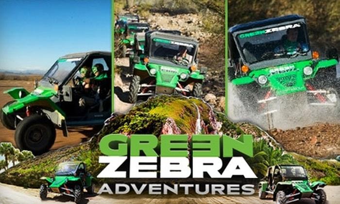 Green Zebra Adventures - Salt River: $59 for an Off-Road Tour from Green Zebra Adventures