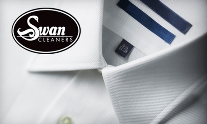 Swan Cleaners: $20 for $40 Worth of Dry Cleaning with Delivery from Swan Cleaners