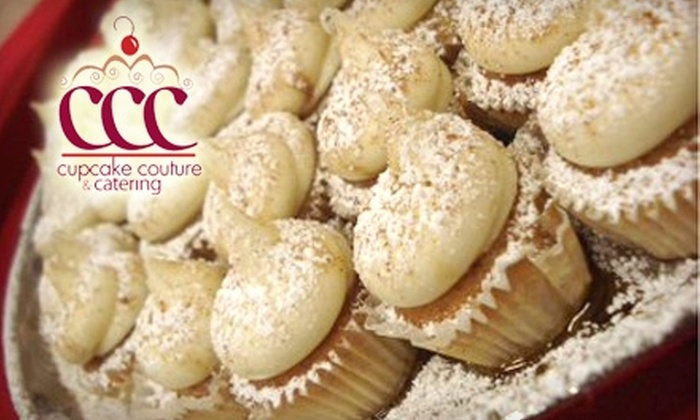 Cupcake Couture & Catering - Augusta Street Area: $15 for a Dozen Cupcakes ($32 Value) or $10 for $20 Worth of Cafe Fare at Cupcake Couture & Catering