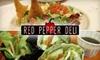 Red Pepper Deli - Northville: $5 for $12 Worth of Vegan Cuisine at Red Pepper Deli in Northville