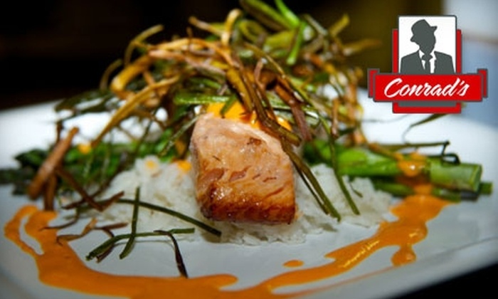 Conrad's - Oakwood Court: $15 for $40 Worth of Upscale American Dinner Cuisine and Drinks at Conrad's