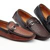 Adolfo Jonathan Men's Woven Driving Shoes