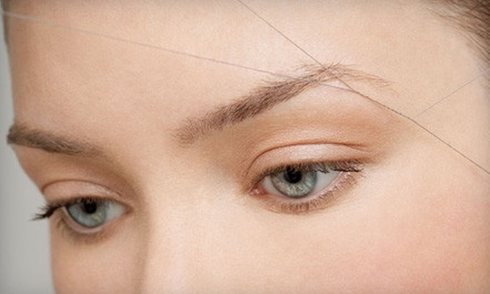 Yuva Threading Salon - Multiple Locations: One or Three Brazilian Waxes or Six Eyebrow-Threading Sessions at Yuva Threading Salon (Up to 62% Off)