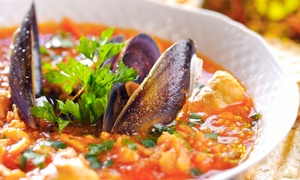 RoccoVino's: Italian Dinner for Two or More at RoccoVino's Carol Stream (Up to47%Off). Two Options Available.
