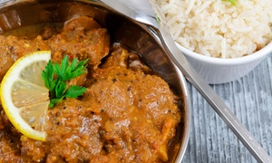 Indigo Indian Bistro: Three-Course Indian Dinner for Two or Four at Indigo Indian Bistro (Up to 48% Off)