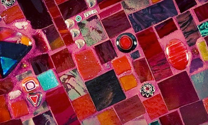 Laura K. Aiken  - Viola Street Area: One-Hour, BYOB Mosaic-Making Class for One or Two from Laura K. Aiken (Up to 56% Off)